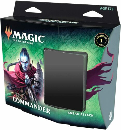 Magic: The Gathering Zendikar Rising Commander Deck – Sneak Attack