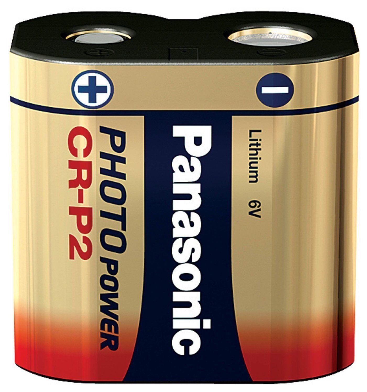 2x CRP2 CR-P2 PANASONIC Foto-Batterie Lithium 6V NEU 34,8 x 19,3 x 35,6