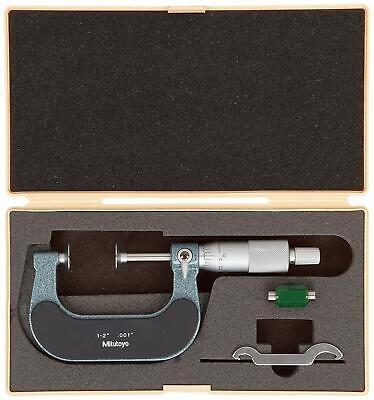 Mitutoyo 123-126 Disk Micrometer Ratchet Stop 1-2