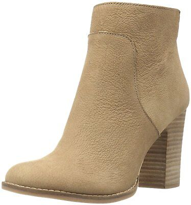 Lucky Brand Women's Liesell Side Zip Fashion Leather Ankle B