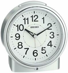 Seiko Bedside Alarm Japanese Quartz Alarm Clock QHE117SLH NEW EXPEDITED SHIPPING