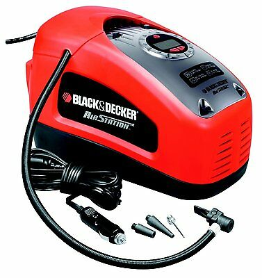 Compresseur 11 bars / 160 PSI - Black & Decker ASI300 - NEUF avis black et decker asi300 -   1 - Compresseur portatif Black et Decker ASI300