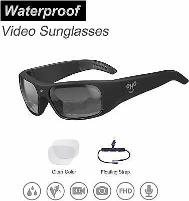 OhO sunshine Waterproof Video Sunglasses, 1080P Full HD Video (Waterproof Video Sunglasses)