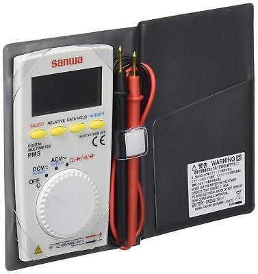 Sanwa Digital Multimeter Pm3 Pocket Size From Japan Fs New