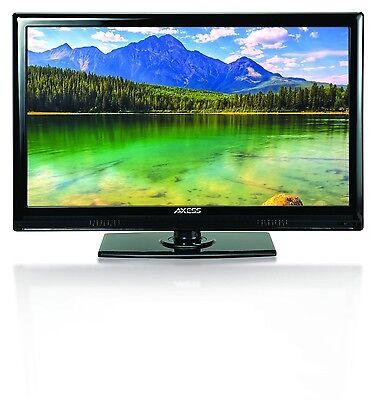 "AXESS 24"" HDTV LCD LED HD TV TELEVISION AC/DC 12 VOLT CAR CORD HDMI USB INPUT"