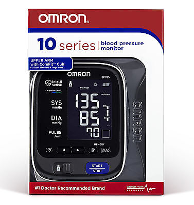Omron BP785N 10 SERIES Advanced Accuracy Upper Arm Blood Pressure Monitor (Omron Upper Arm)