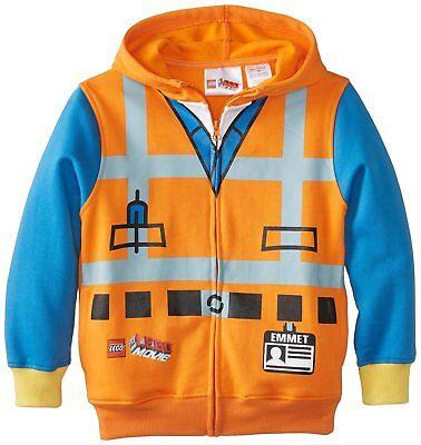 Lego Movie Emmet Costume Sweatshirt Hoodie Kids (Lego Emmet Hoodie)