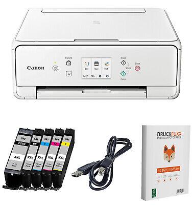 Canon PIXMA TS 6251 / 6250 Multifunktions Drucker 5x XL TINTE Scanner Kopierer