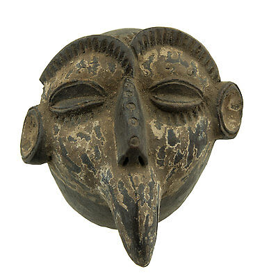 Mask African Passport Terracotta Cards Rare Art Premier- Af 1146 - B2B
