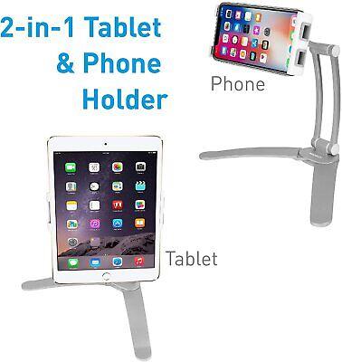 2-in-1 Kitchen Tablet Stand & iPad Wall Mount/ Under Cabinet Holder-mount holder