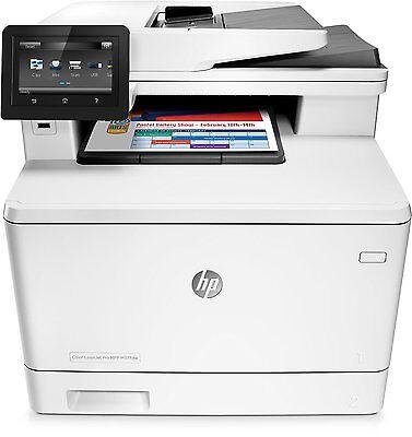 HP Color LaserJet Pro M377dw Farblaser (A4, 3in1 Drucker, Kopierer, LAN, WLAN) (Farbe Wlan Laser Drucker)