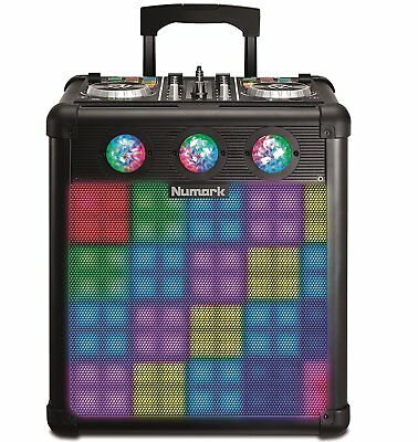 Numark Party Mix pro - Driver Dj and Speaker Portable with Lights Reactive