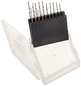 20pc Micro Mini Drill Bit Set Index 61-80 In White Plastic Box #826HD20P US SHIP