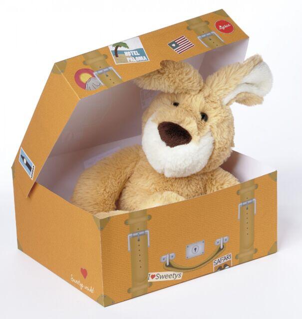 Sigikid Stofftier Hase Sweety in der Box 38390 Braun 27 cm Kuscheltier Neu & Ovp