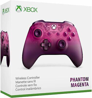 Microsoft Xbox One S Wireless Controller Phantom Magenta Special Edition New