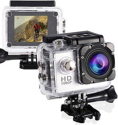 ACTION CAMERA PRO CAM SPORT ULTRA HD SCHERMO LCD VIDEOCAMERA SUBACQUEA 30M E-T08