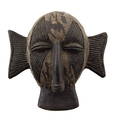 Mask Diminutive African Passport Miniature Earth Cotta Divination 6455 AF1