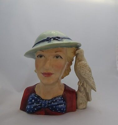 Kevin Francis YOUNG PEGGY DAVIES Character Toby Jug №36 of 350 Figurine