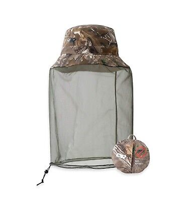 New Outdoor Research Bug Helios Bucket Sun Hat Camo Realtree Sz Large FREE SHIP!