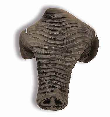Premium Gray Elephant Tusk Nose Rubber Latex Mask Dress Up Child Adult Kids NEW - Childrens Dressing Up Accessories
