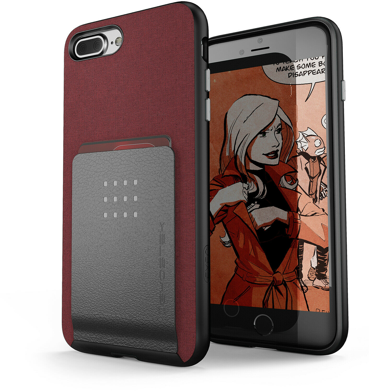For iPhone 8 Plus / 7 Plus Case | Ghostek EXEC2 Card Slot Wa