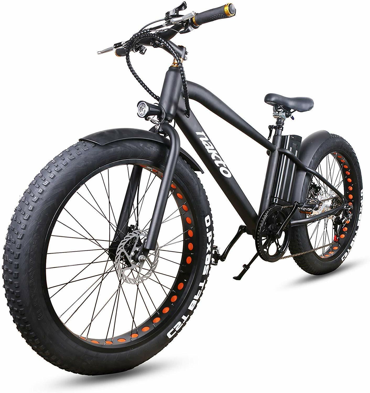 Electric Bicycle 26″ 350W Fat Tire Shimano 6 Speed Gear E-Bike 36V10Ah Battery Cycling