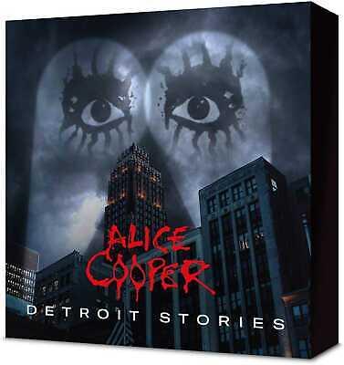 Alice Cooper - Detroit Stories (NEW CD, BLU-RAY BOXSET)