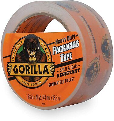 Gorilla Heavy Duty Large Core Packing Tape For Moving Shipping And Storage...