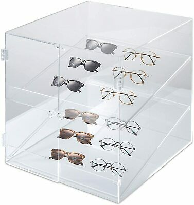 Acrylic Display Case Cabinet 14 X 14 X 14 Bakery Countertop Transparent Cakes