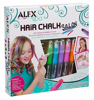 ALEX Toys Spa Hair Chalk Salon Make Your Hair As Vibrant As You Are 738W New