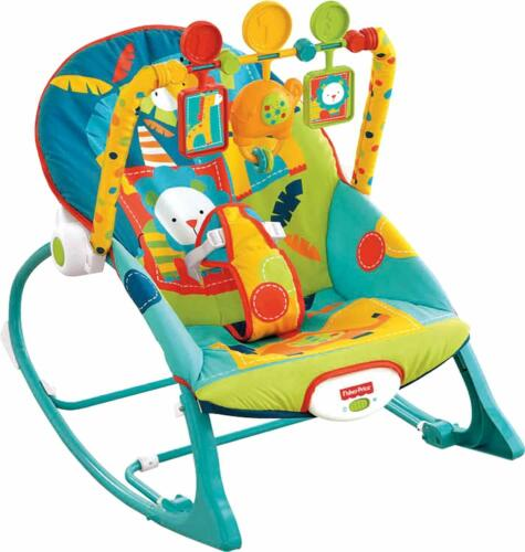 Fisher Price Infant-to-Toddler Rocker - Circus Celebration, OPEN BOX