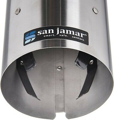 San Jamar C4200pf Stainless Dispenser For Foam Cups 4 To 10 Ounce