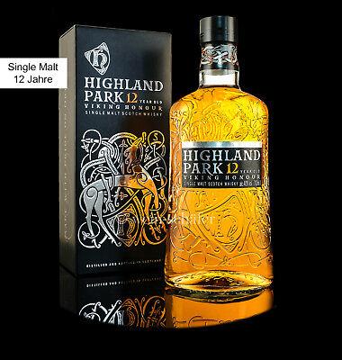 Highland Park 12 Jahre Single Malt Scotch Whisky Highland 40% 0,7l Schottland