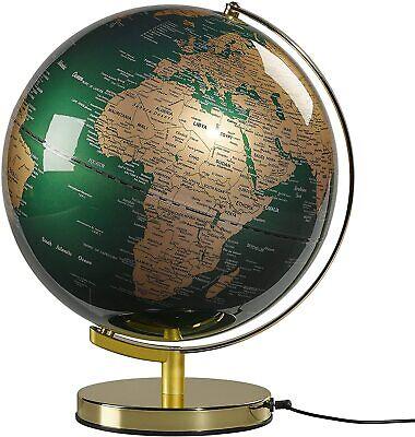 Wild and Wolf Globe Light 12 Inch   Fir & Brass