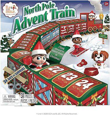 Elf On The Shelf North Pole Advent Train Calendar 2020 - NIB