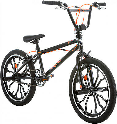 62d08aaea44 Mongoose Rebel Freestyle Kids BMX Bike, 20 Aluminum Mag Wheels, Ages 6 And  Up,