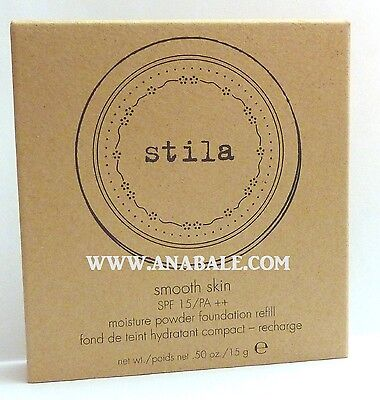Stila Smooth Skin SPF 15 Moisture Powder Foundation Refill Shade C, 1 -