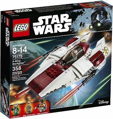 LEGO Star Wars Return of the Jedi 75175 A-Wing Starfighter - NISB, Retired, Rare
