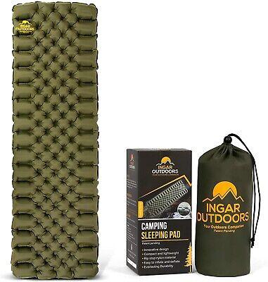 Camping Sleeping Pad Ultralight Durable Sleep Pads Backpacking Hiking 1.3lbs