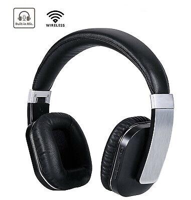 Wireless Headset Over Ear Gaming Noise Cancelling Headband Headphone Earphone