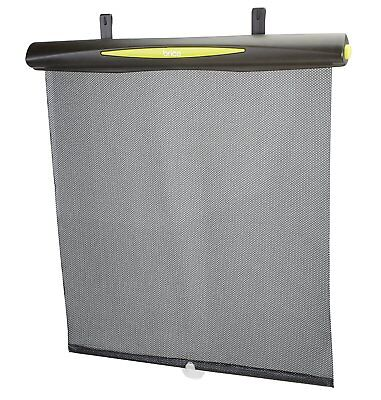 Brica Better Fit UV-Guardian Roller Shade, Black (Open Package)