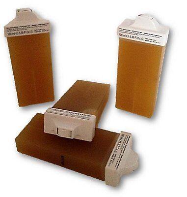 Wachspatronen Honig mit mini Rollkopf 4 St Haarentfernung Oberlippe Augenbrauen