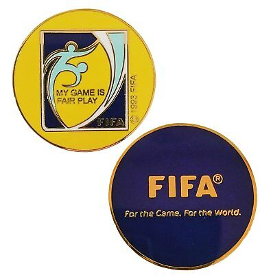 Coin Toss Game (Football/Soccer Referee Game Flip/Toss Coin with Plastic Sleeve)