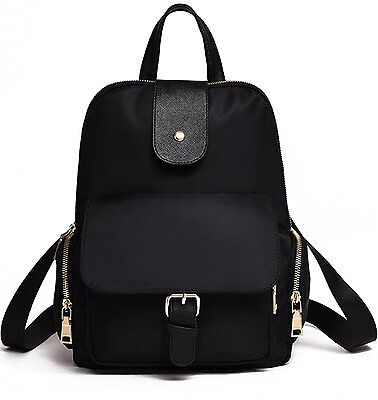Luckysmile Water Resistant Nylon Backpack Purse Casual Daypack for Women Girls