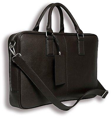 BfB Laptop Messenger Bag For Men - Designer Business Computer Bag