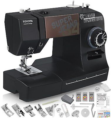 Sewing Machines Jeans (TOYOTA Super Jeans J34 Sewing Machine with 34 Built-In Stitches + FREE Shipping! )