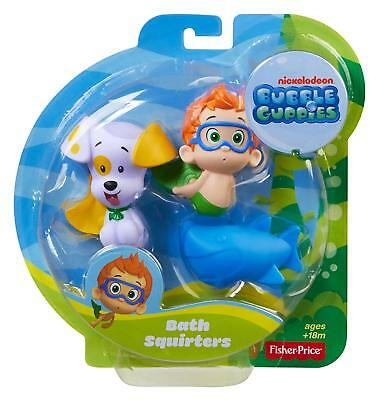 Fisher-Price Bubble Guppies, Bath Squirters: Nonny, Bubble Puppy and Shark - Nonny Bubble Guppies