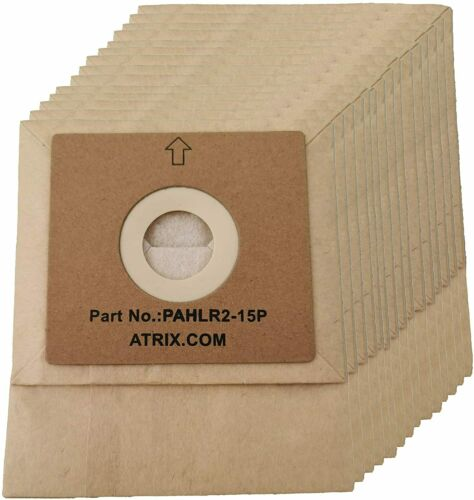Atrix PAHLR2-15 Pack 2 Quart Vacuum Filter Bag for AHSC1 Lil Red Canister Vacuum