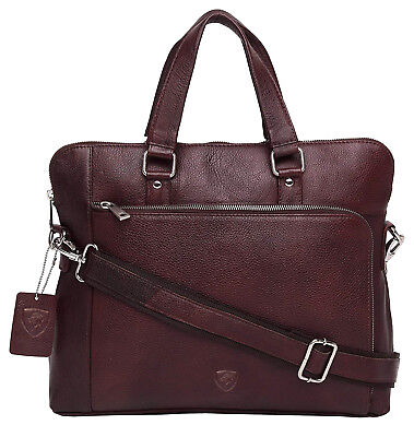 - Mens Designer Leather Laptop Bag Ladies Shoulder Cross Body Work Messenger Case