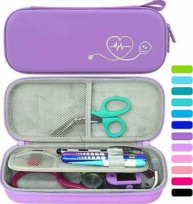 Storage Travel Carry Case With Divider Id Slot Fit 3m Littmann Stethoscope Etc